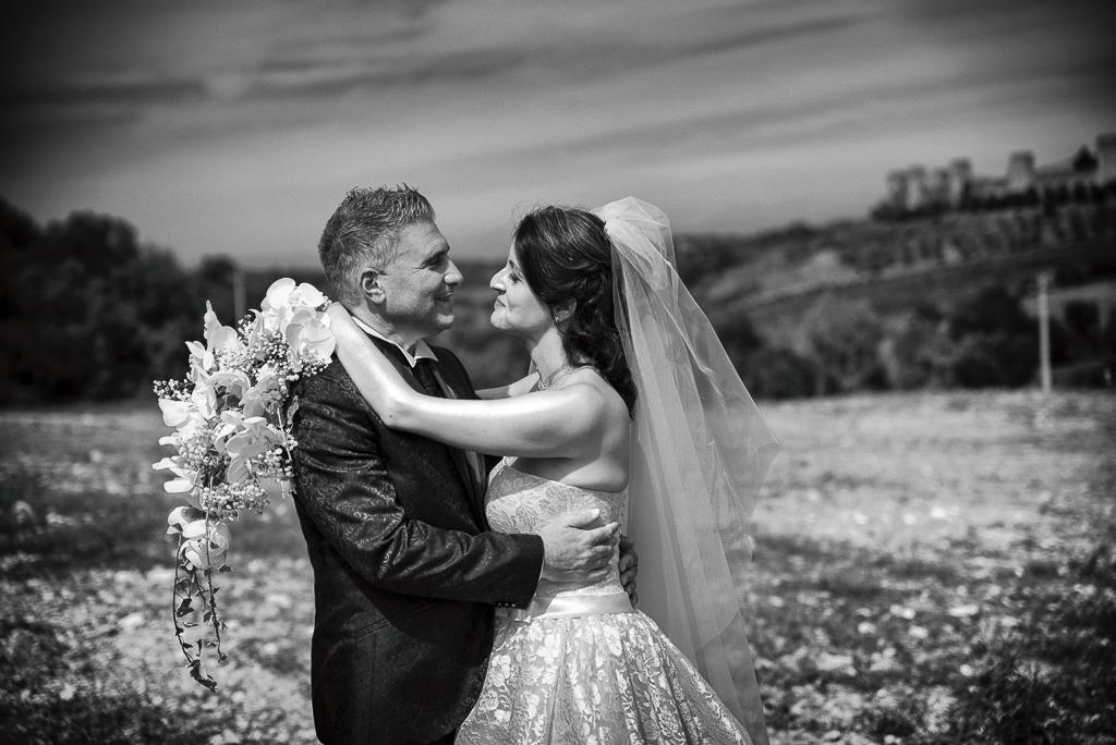 Matrimonio Monteriggioni Primo Piano Colle Floriana e Filippo